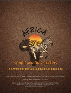 adrica sport hunting safaris brochure